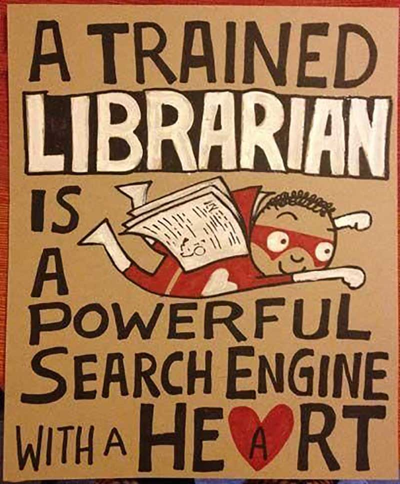Librarian With A Heart